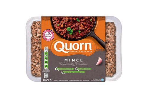Trays have clear sustainability benefits for Quorn